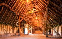 Barley Barn (1205–30) at Cressing Temple, Essex.