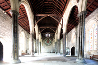 The aisled Great Hall at Winchester, commissioned by Henry III and built between 1222 and 1236