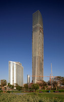 Abu Dhabi Investment Authority (ADIA) (left), by Kohn Pedersen Fox (2008)