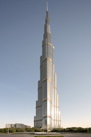 Burj Khalifa (2010), Dubai, by Skidmore, Owings and Merrill (SOM)